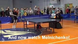 Неадекватный игрок в настольный теннис - Видео онлайн