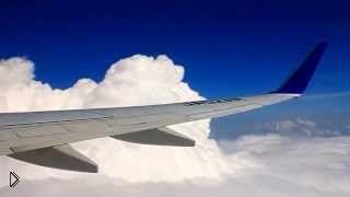 Смотреть онлайн Самолет сильно тресет в воздушной яме