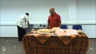 Смотреть онлайн Китайский Цигун массаж в четыре руки