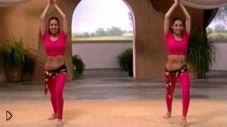 Смотреть онлайн Урок восточного танца живота для похудения