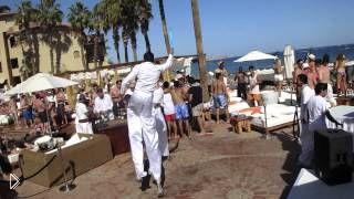 Смотреть онлайн Кабо Сан Лукас, Мексика: пляж Nikki Beach