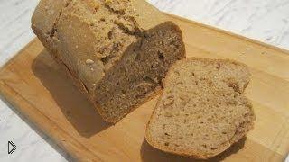 Рецепт вкусного ржаного хлеба с семечками в хлебопечке - Видео онлайн