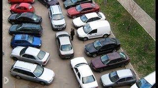Смотреть онлайн Что делать: спереди и сзади зажали на парковке