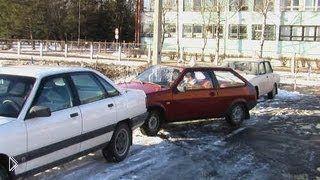 Как научиться парковаться передним ходом - Видео онлайн