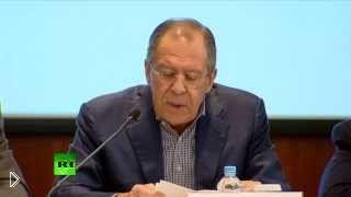 Смотреть онлайн Сергей Лавров высказывается о действиях Запада