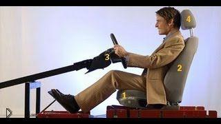 Смотреть онлайн Как правильно сидеть на водительском кресле