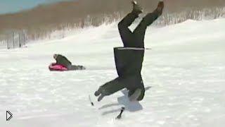 Смотреть онлайн Лучшие зимние ляпы в прямом эфире новостей
