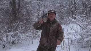 Смотреть онлайн Особенности зимней охоты