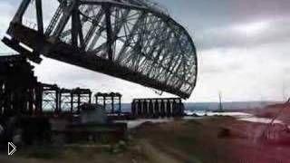 Демонтаж моста в Ульяновске: 2007 год - Видео онлайн