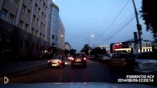 Смотреть онлайн Суровая погоня с дракой водителей в Тюмени