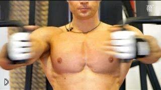 Смотреть онлайн Урок: упражнения для укрепления мышц груди