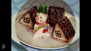 Смотреть онлайн Десерт из творога и печенья