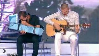 Смотреть онлайн КВН Бак Соучастники Самая жалостливая песня на Кивине