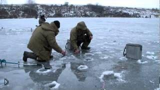 Смотреть онлайн Зимняя рыбалка на карпа