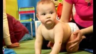 Как научить ребенка правильно сидеть, ползать, ходить - Видео онлайн