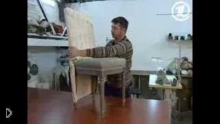 Смотреть онлайн Мастер класс как сшить чехол на стул своими руками