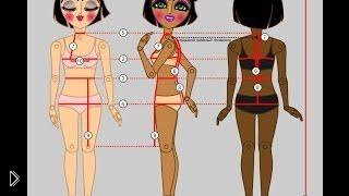 Смотреть онлайн Как правильно снимать мерки с женщины для одежды