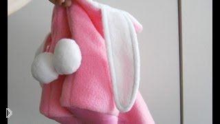 Смотреть онлайн Как сшить домашние сапожки по выкройке