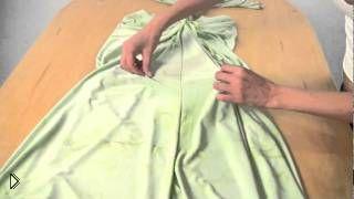 Смотреть онлайн Как быстро пошить летнее платье без выкройки