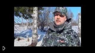 Смотреть онлайн Зимняя охота на оленя с блочным луком