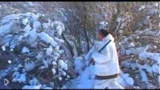 Смотреть онлайн Зимняя охота на тетеревов с подходом