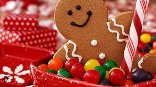 Смотреть онлайн Рецепт классического новогоднего имбирного печенья