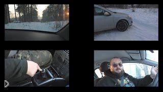 Смотреть онлайн Особенности и правила вождения авто зимой