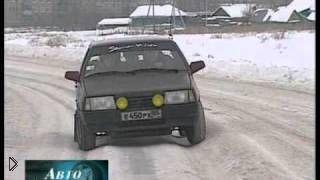 Смотреть онлайн Как правильно ездить по зимней колее