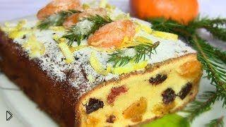 Смотреть онлайн Рецепт Рождественского английского кекса