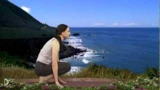 Смотреть онлайн Урок йоги в домашних условиях для начинающих
