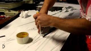 Как сделать пескоструйный рисунок на зеркале шкафа купе - Видео онлайн