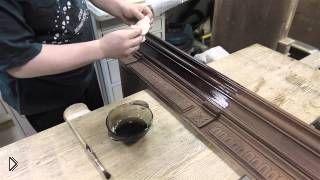 Смотреть онлайн Ремонт старой деревянной мебели своими руками
