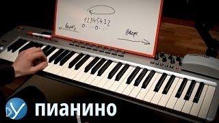 Смотреть онлайн Урок фортепиано: правильная постановка рук, посадка