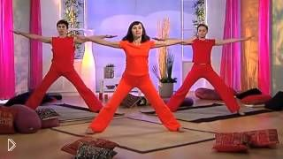 Начальный урок йоги: упражнения и позы - Видео онлайн