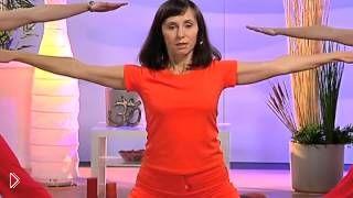 Смотреть онлайн Урок йоги для начинающих с Татьяной Бородаенко