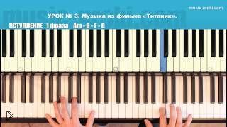 Смотреть онлайн Учимся играть на пианино песню из
