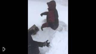 Снегопады во Владивостоке замели дороги: 16.12.2014 - Видео онлайн