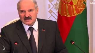 Смотреть онлайн Лукашенко о запрете импорта в Россию белорусских товаров