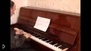 Смотреть онлайн Урок фортепиано: правила записи нот на нотном стане