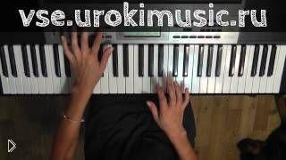 Обучение красивой мелодии на фортепиано для начинающих - Видео онлайн