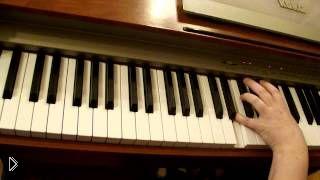 Смотреть онлайн Фортепиано для начинающих: интервалы в музыке