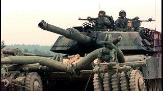 Смотреть онлайн Военные машины для разминирования полей