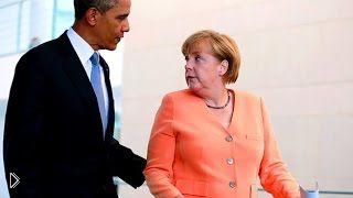 Смотреть онлайн Меркель стала мишенью разведывательных служб США
