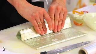 Смотреть онлайн Готовим дома необычные роллы в рисовой бумаге