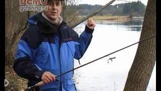 Смотреть онлайн Как правильно ловить судака весной на спиннинг