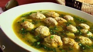 Варим картофельный суп с мясными фрикадельками - Видео онлайн