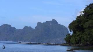 Смотреть онлайн Обзор пляжа Лас Кабанас, Филиппины