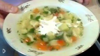 Смотреть онлайн Пошаговый рецепт приготовления супа с клецками