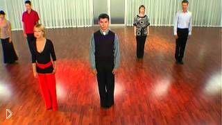 Урок первого вальса молодожёнов на свадьбу - Видео онлайн