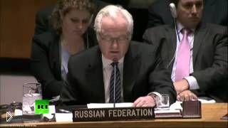 Смотреть онлайн Выступление Чуркина в Совете безопасности ООН, 2015